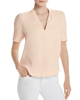 Joie - Ance Short-Sleeve High/Low Top