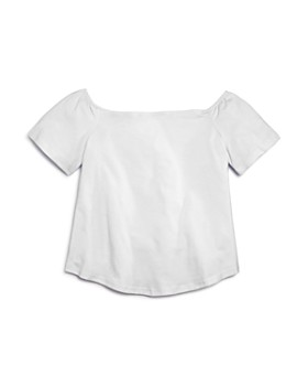 AQUA - Girls' Off-the-Shoulder Top, Big Kid - 100% Exclusive