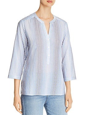 Tommy Bahama Simona Sands Striped Button-Down Top