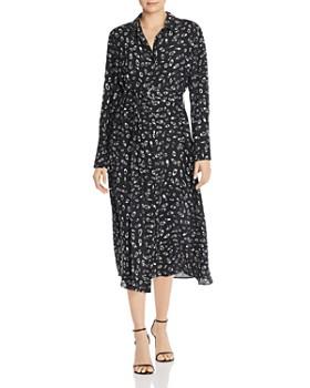 Fame and Partners - Berit Printed Midi Shirt Dress