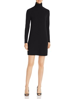 Majestic Filatures - French Terry Turtleneck Dress