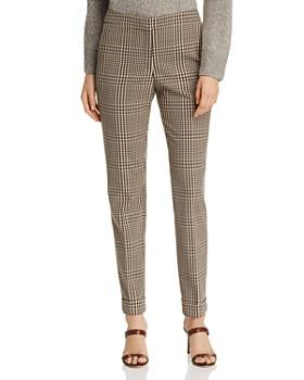 Lafayette 148 New York - Clinton Plaid Cuffed Pants