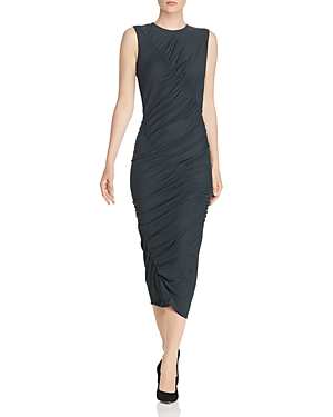 Narciso Rodriguez Dresses RUCHED JERSEY MIDI DRESS