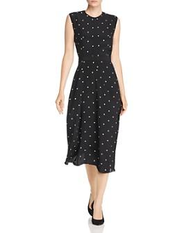 Narciso Rodriguez - Polka Dot Silk Midi Dress