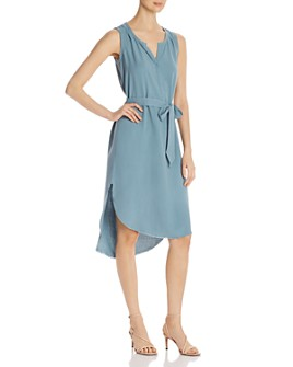 Go by Go Silk - Sleeveless High/Low Dress