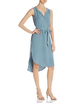 Go by Go Silk - Sleeveless High/Low Dress