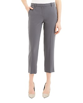 Theory - Cropped Straight-Leg Pants