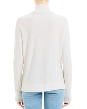 Theory - Wool Intarsia Turtleneck Sweater