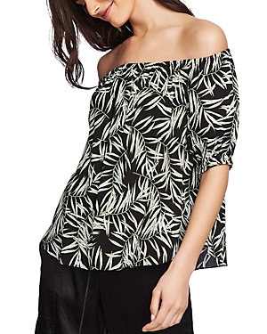 1.state Desert Palms Off-the-Shoulder Top