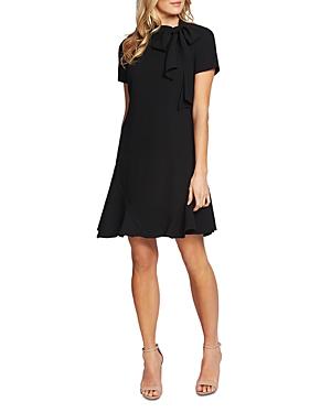 CeCe by Cynthia Steffe Bow Neck A-Line Dress-Women