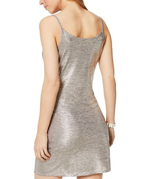 Ramy Brook - Jac Sleeveless Metallic Mini Dress