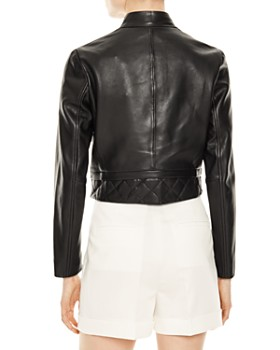4ff7a94f1 Black Leather Moto Jacket - Bloomingdale's