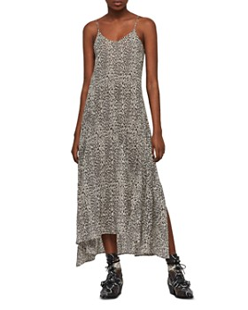 ALLSAINTS - Essie Leopard Print Maxi Dress