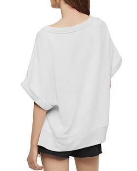 ALLSAINTS - Quince Short Sleeve Sweatshirt