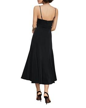 BCBGMAXAZRIA - Strappy Flared Midi Dress