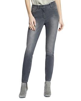 BASLER - Skinny Jeans in Grey Denim