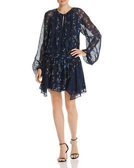 Ramy Brook - Guinevere Silk Animal-Print Dress