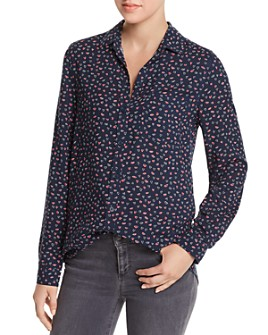 BeachLunchLounge - Printed Button-Down Top