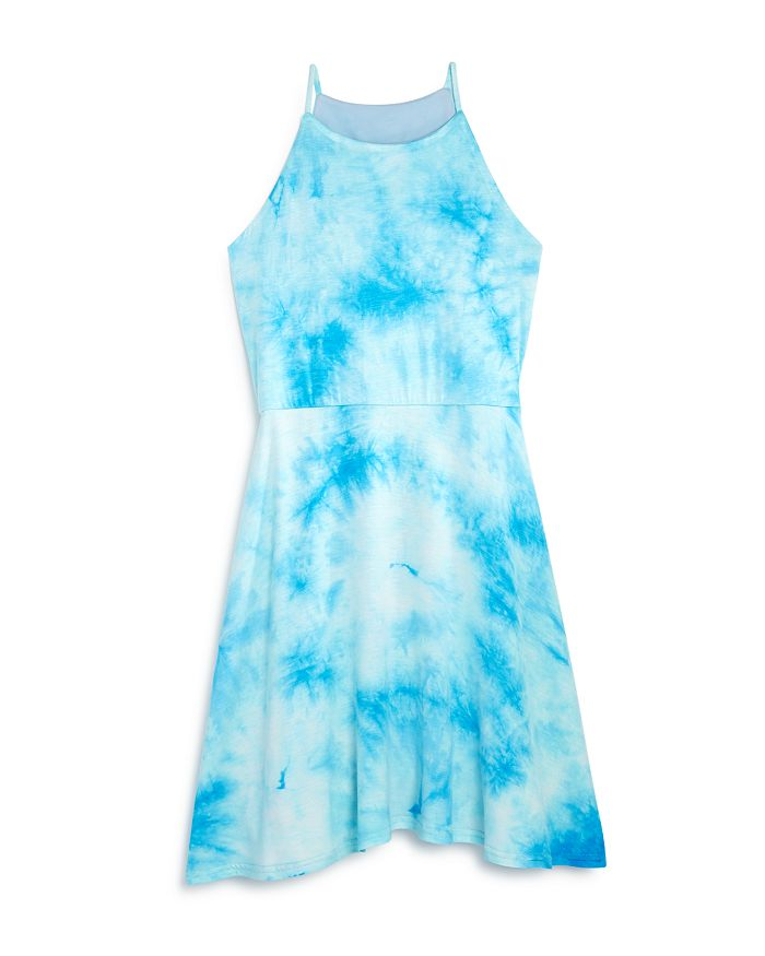 AQUA - Girls' Tie-Dyed Sleeveless Dress, Big Kid - 100% Exclusive