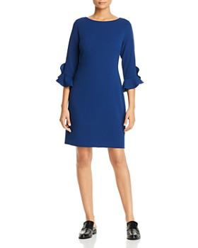 KARL LAGERFELD Paris - Scuba Crêpe Sheath Dress