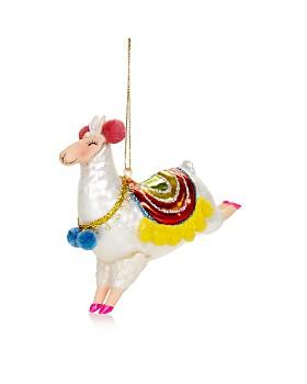 Bloomingdale's - Llama Glass Ornament - 100% Exclusive