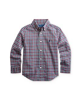 Ralph Lauren - Boys' Plaid Button-Down Shirt - Little Kid