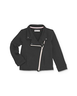 Mini Series - Girls' Fiona French Terry Moto Jacket, Little Kid - 100% Exclusive