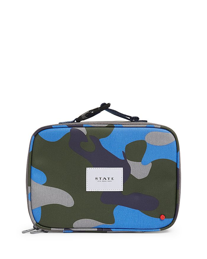 STATE - Boys' Camo Lunch Box