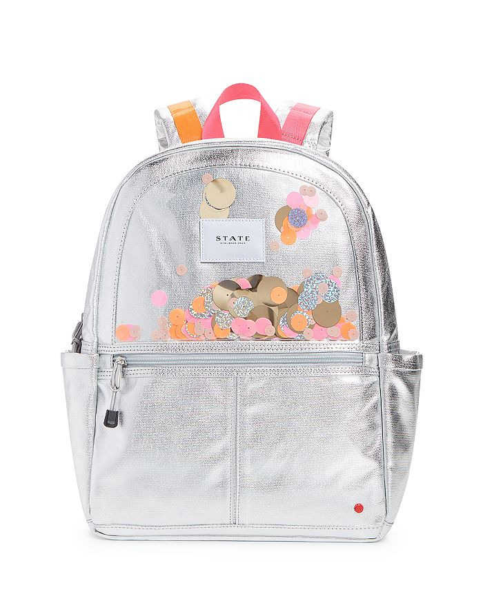 STATE - Girls' Metallic Confetti Backpack