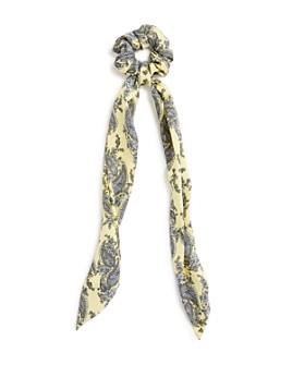 AQUA - Paisley Tie Detail Scrunchie - 100% Exclusive
