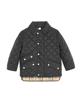 Burberry - Unisex Brennan Diamond Quilted Jacket - Little Kid, Big Kid