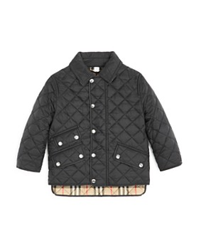 Burberry - Boys' Brennan Diamond Quilted Jacket - Little Kid, Big Kid