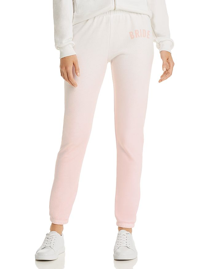 Wildfox Knox Blushing Bride Sweatpants In Vanilla