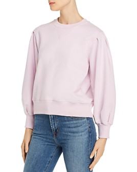 Rebecca Minkoff - Scarlette Pleated-Sleeve Sweatshirt