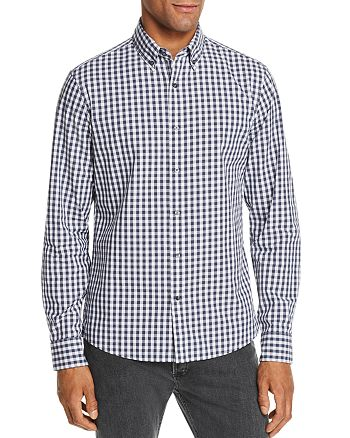 Michael Kors - Gingham Slim Fit Dress Shirt