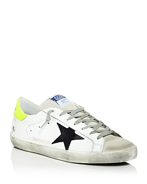 Golden Goose Unisex Leather Superstar Sneakers - 100% Exclusive In White