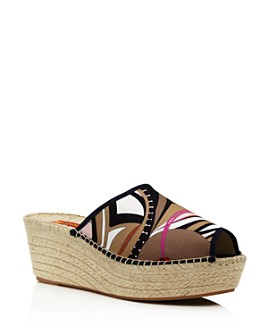 RESPOKE - Women's Wedge Heel Espadrille Sandals