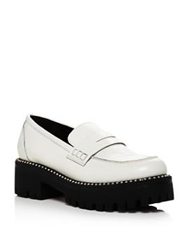 AQUA - Women's Bela Studded Platform Loafers - 100% Exclusive