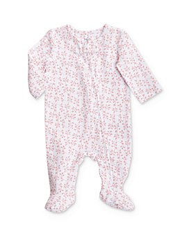 Aden and Anais - Girls' Vine Print Footie - Baby