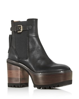 See by Chloé - Women's Bryn Platform Booties