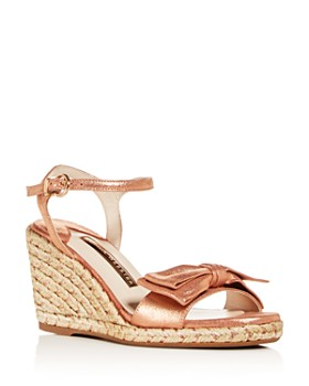 Sophia Webster - Women's Bonnie 90 Wedge Espadrille Sandals
