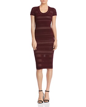 Bailey 44 - Lindsay Laser-Cut Sweater Dress