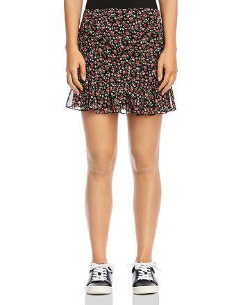 Bailey 44 - Marilyn Ruffled Floral Mini Skirt
