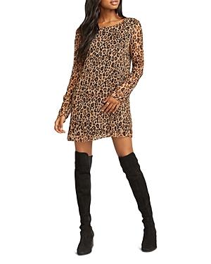 Show Me Your Mumu Nakita Leopard-Print Mini Dress
