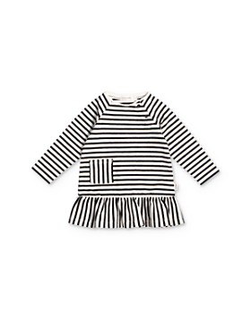 Miles Baby - Girls' Striped Pocket Dress - Baby