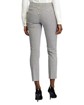 Ralph Lauren - Check-Print Skinny Ankle Pants