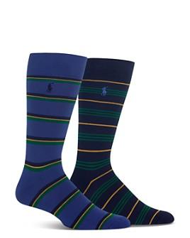 Polo Ralph Lauren - Multi-Stripe Socks - Pack of 2