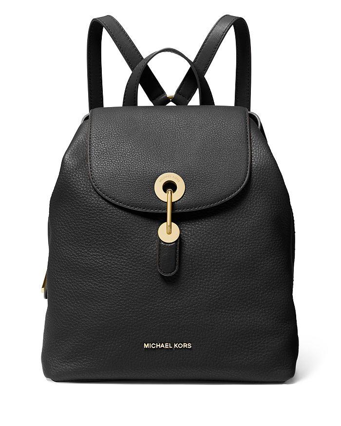 MICHAEL Michael Kors - Raven Medium Leather Backpack