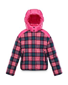 Moncler - Girls' Plaid Chouette Jacket - Little Kid