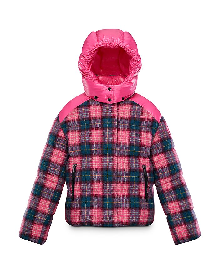 Moncler - Girls' Plaid Chouette Jacket - Little Kid